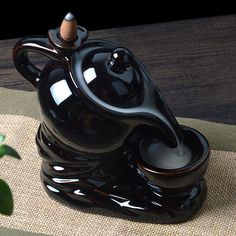 Burning Incense, Incense Burner, Incense Cones, Incense Sticks, Ceramic Incense Holder, Handmade Birthday Gifts, Little Buddha, Ceramic Decor, 1 Piece