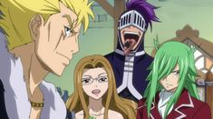 Thunder Legion! Laxus, Evergreen, Bickslow, and Freed - Fairy Tail