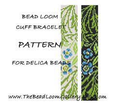 Bead Loom Cuff Bracelet Pattern Vol14  by thebeadloomgallery, $4.00