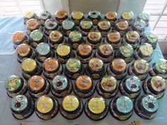 Safari baby shower - cupcakes (nezzy's beautiful creations) | Flickr - Photo Sharing!