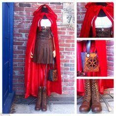 steampunk little red