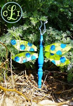 Tutorial for winged bug for the garden!