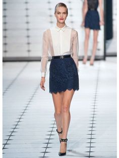 Spring 2013 Fashion Trends - Best Trends from Spring 2013 Fashion Week - Marie Claire  #jasonwu