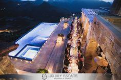 Private estate vineyard wedding | Wedding Planning & Design by Luxury Estate Weddings & Events | luxuryestateweddings.com