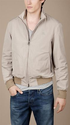 Burberry Mans Jackets on cool summer nights