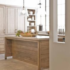 Modern Kitchen With Antique Island Design, Pictures, Remodel, Decor and Ideas - page 2
