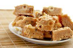 Ванильная сливочная помадка с орехами