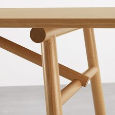 Ateliertally | 'Span' Dining Table by Wales & Wales for Joined + Jointed