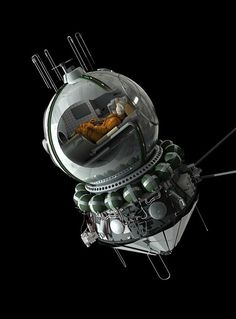 Vostok 1 (first manned spaceflight in history, launched on April 12, 1961 from Baikonur Cosmodrome with Soviet cosmonaut Yuri Gagarin)