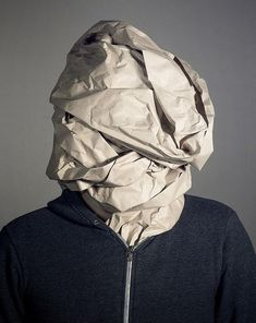 Special Costume Idea, DIY Paper Bag Costume Ideas, http://hative.com/diy-paper-bag-costume-ideas/,
