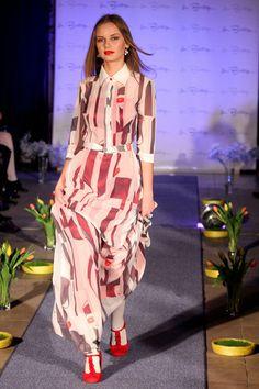 Positive fashion dress