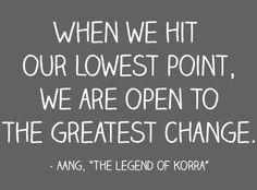 Greatest change