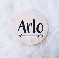 Bebé nombre placa placa de madera dormitorio moderno