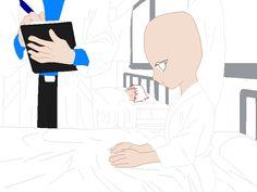 The Hospital Base by Sayanna Best Anime Drawings, Oc Drawings, Drawing Sketches, Figure Drawing Reference, Drawing Reference Poses, Drawing Base, Manga Drawing, Anime Base, Art Inspiration Drawing