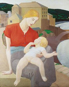 ernest procter | Vintage et cancrelats: Ernest Procter : The Virgin and the Harbour ...