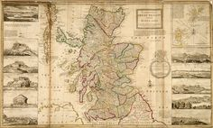 Map of Scotland. The National Archives reference WO Architecture Art Design, National Archives, New York Public Library, World War I, Funny Design, Outdoor Travel, Great Britain, Travel Quotes, Outlander