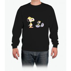 Snoopy And Woodstock Easter Shirt Long Sleeve T-Shirt