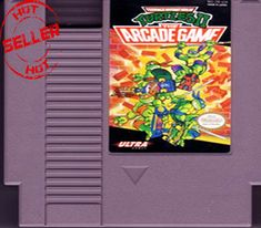 Teenage Mutant Ninja Turtles II The Arcade 72 pins Game Cartridge For Nes Original Nintendo, Teenage Mutant Ninja Turtles, Nintendo Games, Card Games, Arcade, Video Game, Cards, Ebay, Video Games