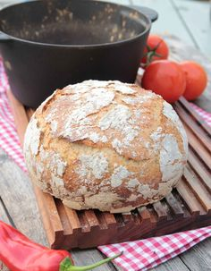 Grytbröd - Oerhört saftigt bröd med en härlig, knaprig brödskorpa.