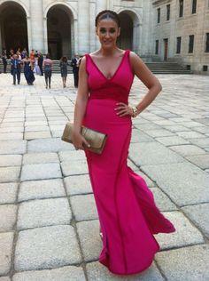 Vestidos Color Rosa, Power Dressing, Pink Dress, Personal Style, Elegant, Formal Dresses, Party, People, Wedding