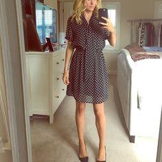 Forever 21 polka dot dress Black dress with white polka dots Forever 21 Dresses Mini