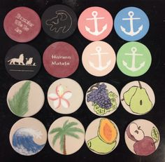 High School Ceramics  (Intro to Ceramics), coaster sets.