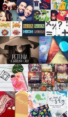 The Mighty Design Bundle: Incredible Design Resources Photo To Watercolor, Watercolor Design, Creative Design, Your Design, Light Font, Blue Texture, Elegant Logo, Text Style, Illustrator Tutorials