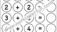 Addition Doubles - 2 Worksheets