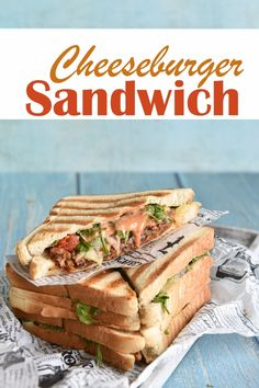Crock Pot Sandwiches, Wrap Sandwiches, Grilled Sandwich, Sandwich Recipes, Food Goals, Cheeseburgers, Easy Cooking, Breakfast Recipes, Food Porn