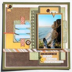 Let the adventure begin. Get inspired at the Scrapbook.com Layout Gallery