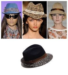 Os chapéus são apostas certas para o verão. Tanto para quem prefere um modelo mais sóbrio quanto para quem adora uma opção mais colorida e divertida.