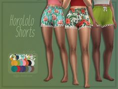 The Sims 4 Trillyke - Horololo Shorts