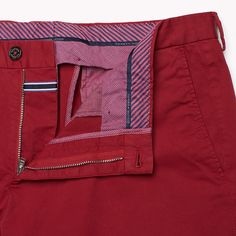Tommy Hilfiger William-w Pant - 616 (Red) - Tommy Hilfiger Trousers - detail image 3