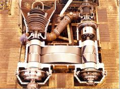 High and low steam turbines