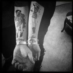 Michelle Branch tattoo (right)