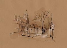 Chasing Places by Alexey Kurbatov, via Behance
