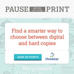 Recyclebank Points ~ Earn 55 Points to redeem for coupons & discounts! - TrueCouponing