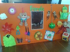 Made my own sensory bord. The kids love it