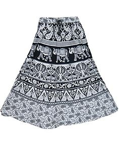 Peasant Skirt- Black & White Cotton Printed Indian Skirts for Womens Mogul Interior http://www.amazon.com/dp/B00VA1PQK2/ref=cm_sw_r_pi_dp_RNJfvb0BE1KRC