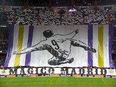 Real Madrid Tifo: Mágico Madrid.
