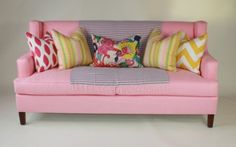 couch styling.