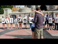 aww i love proposals especially disney ones!