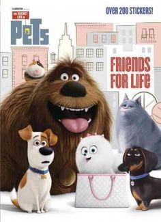 Secret Life of Pets Stickerific