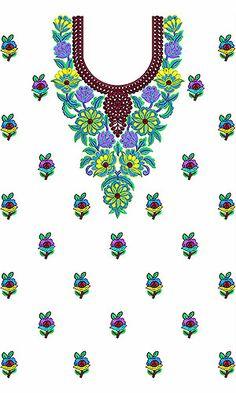 Women Khaleeji Dress Embroidery Design