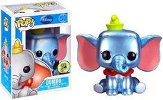 Funko POP! Disney 2013 SDCC San Diego Comic-Con Exclusive Vinyl Figure Dumbo [Metallic] http://popvinyl.net #funko #funkopop #popvinyls #wackywobblers