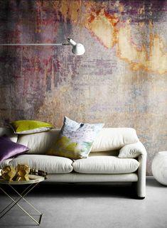 Beautiful concrete wall -  30 Magnificient Concrete Interior Designs
