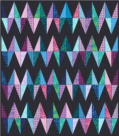 Что-то одевает Одеяло: Chevy - Free Quilt Pattern - Layer Cake