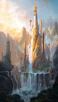 peterconcept, Fantasy Castle