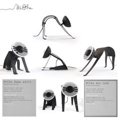 MiCha cat lamps - seriously... Brilliant!