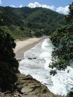 Homunga Bay, Near Waihi Beach, Coromandel, New Zealand